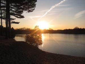 lichtisleven bloemendaal zonsondergang 24-02-2014 (1)