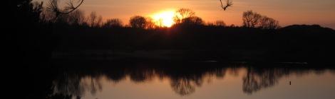 lichtisleven bloemendaal zonsondergang 24-02-2014 (2)