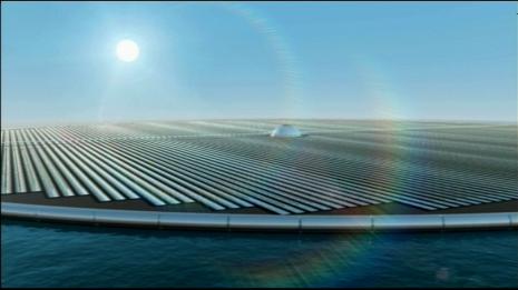 lichtisleven tegenlicht zonnepanelen eiland
