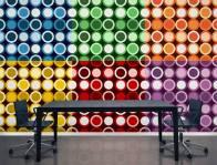 lichtisleven zelfklevend kleurrijk behang kantoor 24-05-2016